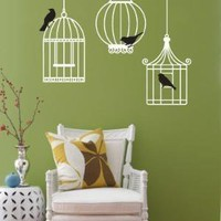 Vinyl Wall Sticker Decal Art  Just hanging out by urbanwalls