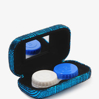 Metallic Contact Lens Case