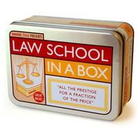 Law School in a Box by Mental Floss