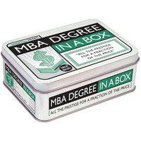 MBA Degree in a Box by Mental Floss