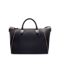 BOWLING BAG WITH ZIPS - Handbags - Woman | ZARA United States