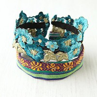 Free People Floral Bun Band