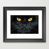 BLACK MAGIC Framed Art Print by catspaws