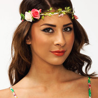 Flower-Child-Headband IVORYPINK - GoJane.com