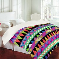 Bianca Green Zig Zag Duvet Cover
