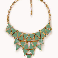 Geo Bib Necklace | FOREVER 21 - 1061555118