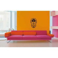 Sugar Skull Vinyl Wall Decal Sticker Graphic