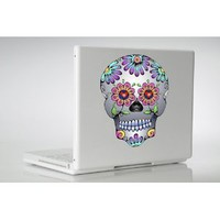 Day of the Dead Sugar Skull wall, laptop, car, window, MacBook vinyl decal