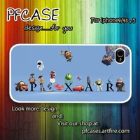 Character of Pixar Case For Iphone 44s 5 Samsung S234 by pfcases12 on Zibbet