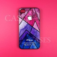 Geometric Iphone 4 Case - Colorful Pattern Iphone Case, Iphone 4s Case:Amazon:Cell Phones & Accessories