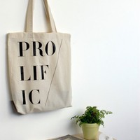 The Little Paper Planes Prolific Tote Bag | Little Paper Planes