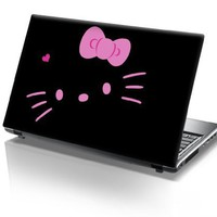 15'6 Inch Taylorhe laptop skin protective decal pink hello kitty:Amazon:Computers & Accessories