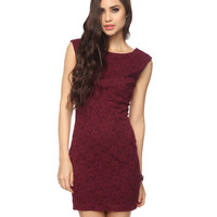 Scoop Back Lace Dress | FOREVER21 - 2000037335