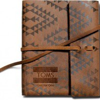 Printed Leather Journal | TOMS.com