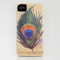 Peacock Scratch  iPhone Case by Terry Fan | Society6