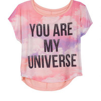 You Are My Universe Tee