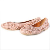 blush with each step rose flats - $50.99 : ShopRuche.com, Vintage Inspired Clothing, Affordable Clothes, Eco friendly Fashion