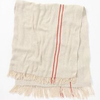 Twill Stripe Throw - Anthropologie.com