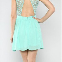The Mint Chiffon Dress - 29 N Under