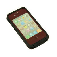 Amazon.com: Generic Water Proof Carrying Case for iphone 4 4S Case Cover (wine red): Cell Phones & Accessories