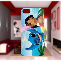 Stitch and Lilo Custom Case For iPhone 4/4S iPhone 5 Galaxy S2/S3/S4
