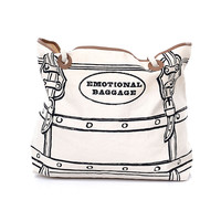 Emotional Baggage Tote Bag - Unique Vintage - Prom dresses, retro dresses, retro swimsuits.