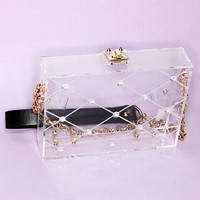 Glacie Clear Box Bag