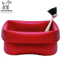 Rubber Washing Up Bowl Red by Normann Copenhagen ? buy online