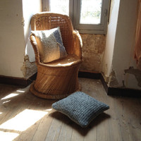 French Rustic Charm - New Homeware Collection coming soon.. Handwoven Pillows