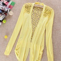 Fashion Future —  Lightweight Lace Cardigan (5 colors)