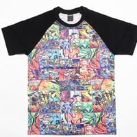 Fashion Future — Men's Comic Cartoon Baseball Tee
