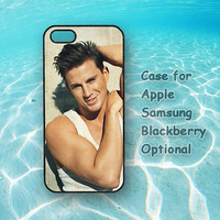 Tatum Channing for iphone 5 case, iphone 4 case, ipod 4 case, ipod 5 case, Samsung galaxy S3, Samsung galaxy S4, note 2, blackberry q10, z10