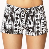 Wold Traveler Denim Shorts | FOREVER 21 - 2000051337