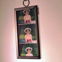 Mary Poppins Necklace - Recycled 35mm Film
