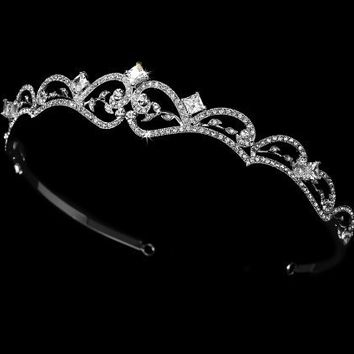 Crystal Bridal Tiara HP 179