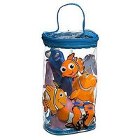 Disney Finding Nemo Bath Buddies 4 Piece Toy Set