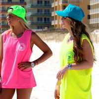 Neon Snapbacks by The Southern Shirt Company