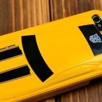 Transformers Alloy Case Bumblebee Car IPhone 4 4G Hard Case Cover:Amazon:Cell Phones & Accessories