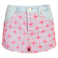 MOTO Bleach Spider Hotpant - New In This Week - New In - Topshop USA