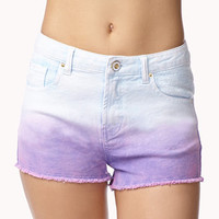 Ombré Denim Cut Offs | FOREVER 21 - 2035141156