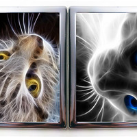 Smoke Cat Cigarette Case Wallet Card Holder