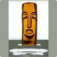 Tiki Head Statue | Sculptures - Haziza | B2  -  Table Art & Sculptures | Shop DapperFrog.com