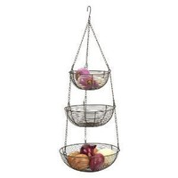 Bronze Wire Hanging Baskets BZ 309