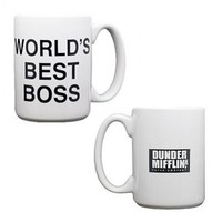 "The Office World""s Best Boss Mug"