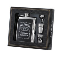 Jack Daniel's 6-Ounce Flask/Shots/Funnel Gift Set
