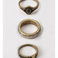 Antiqued Ring Set