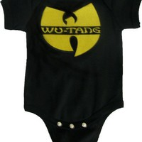 Wu-tang Black Onesuit (12-18 months)