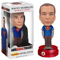 Talking Big Bang Theory Sheldon Cooper Wacky Wobbler Bobblehead - Whimsical & Unique Gift Ideas for the Coolest Gift Givers