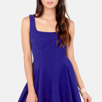 Home Before Daylight Indigo Blue Dress