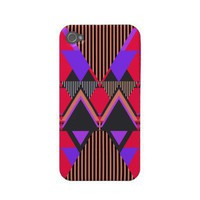 Pop Neon Tribal 6, iPhone 4/4S Case-Mate Case from Zazzle.com